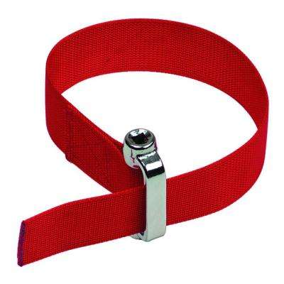 3/8 in. or 1/2 in. Drive Heavy Duty Oil Filter Strap Wrench