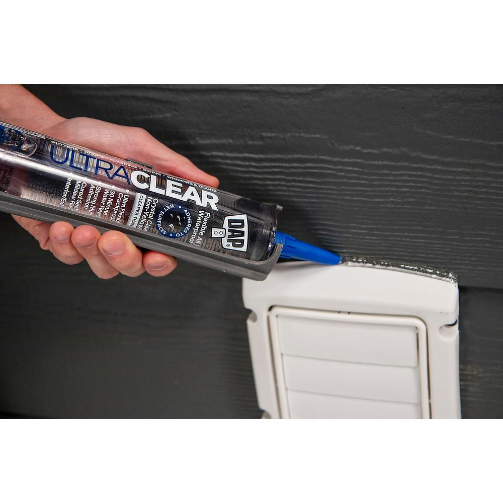 DAP Ultra Clear 10 1 oz  All Purpose Waterproof Sealant