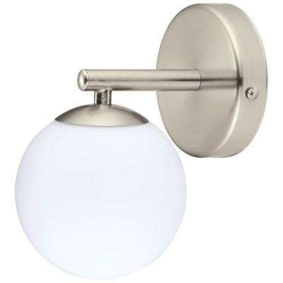 Ferrol 1-Light Satin Nickel Wall Light
