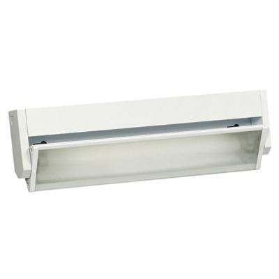 Negron 1-Light White Fluorescent Under Cabinet Strip Light