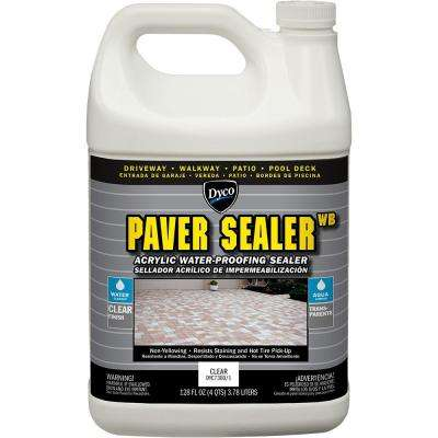 Paver Sealer WB 1 gal. Clear Gloss Exterior Concrete Waterproofing Sealer