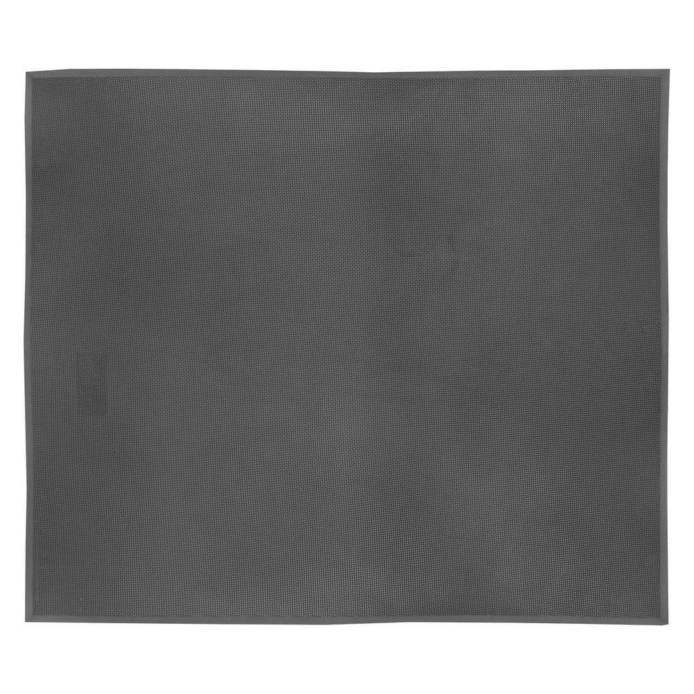 SuperFoam Black 36 in. x 60 in. Nitrile Rubber/PVC Sponge Blend 5/8 in. Thick Anti-Fatigue Mat