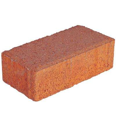 Holland 7.87 in. L x 3.94 in. W x 2.36 in. H 60 mm Terracotta Concrete Paver (480-Pieces/103 sq. ft./Pallet)