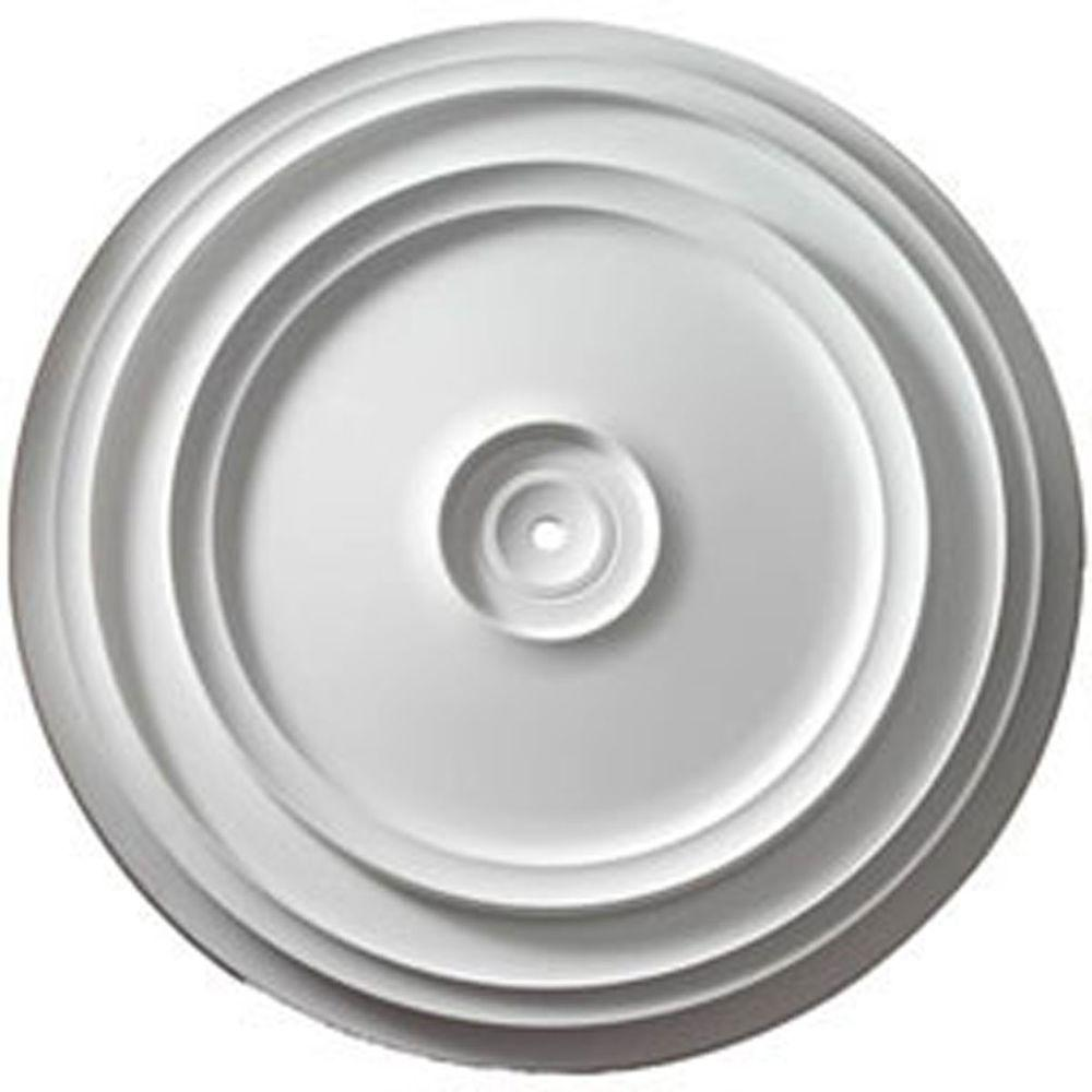 Ekena Millwork 24-3/8 in. Traditional Reece Ceiling Medallion