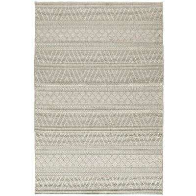 Heat Resistant - Gray - Chevron - Outdoor Rugs - Rugs - The Home Depot