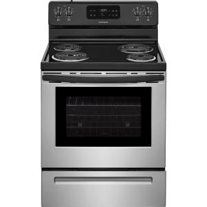 frigidaire 30 in 5 3 cu ft electric range with self cleaning oven rh homedepot com Frigidaire Oven Bake Element Replacement Frigidaire Oven Bake Element Replacement