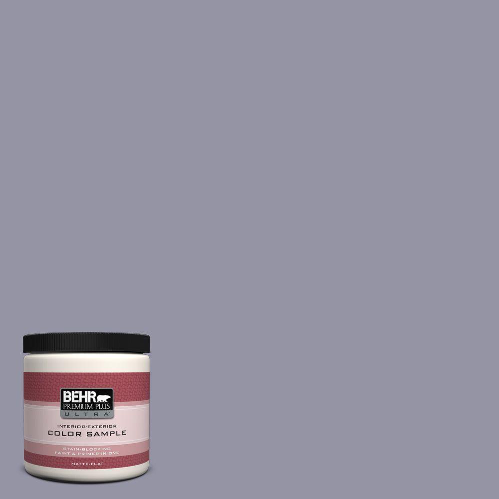 BEHR Premium Plus Ultra 8 oz. #640F-5 Ash Violet Interior/Exterior Paint Sample