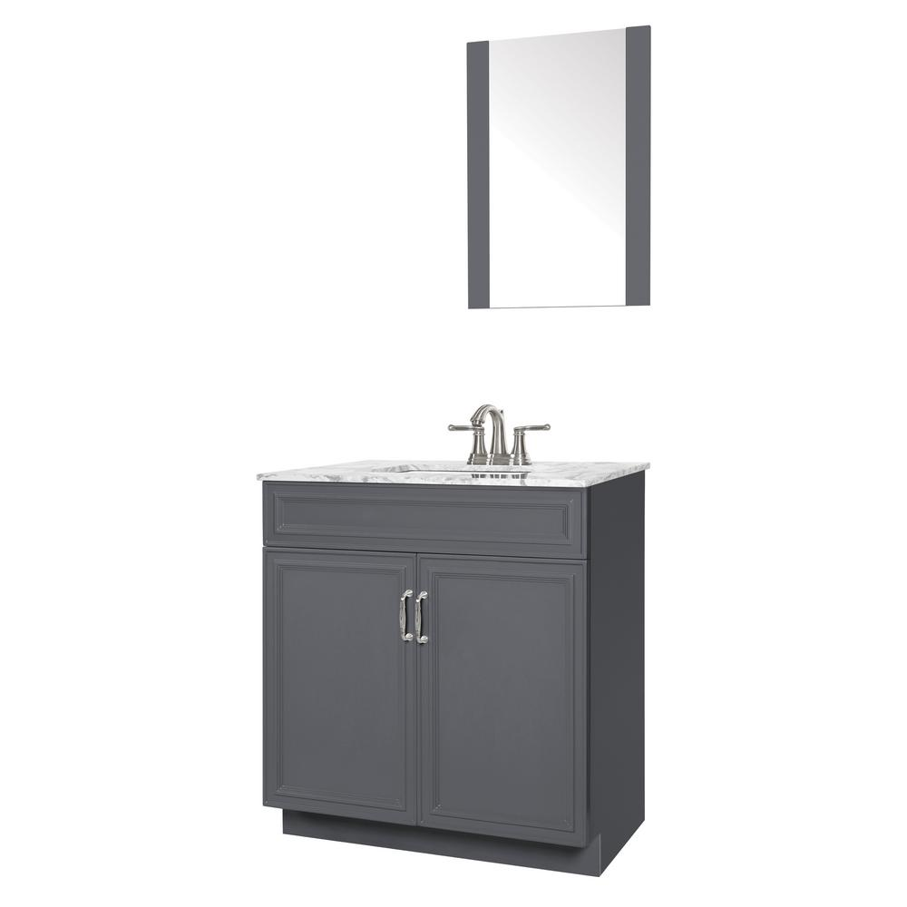 Sheffield Home Colette 30 in. W x 19 in. D Bath Vanity in ...