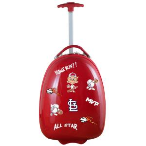 MLB St Louis Cardinals Red 18 in. Kids Pod Luggage