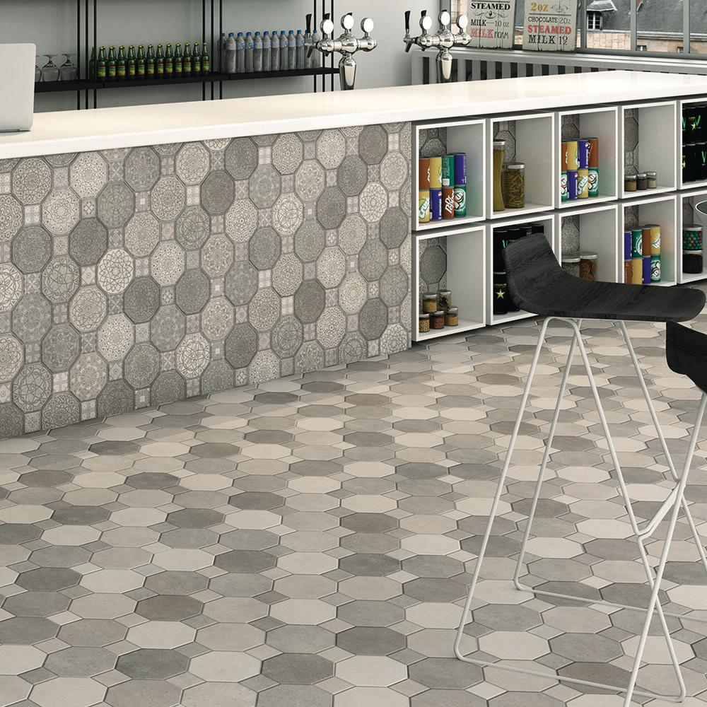 Merola Tile Imagine Cement 17-3/4 in. x