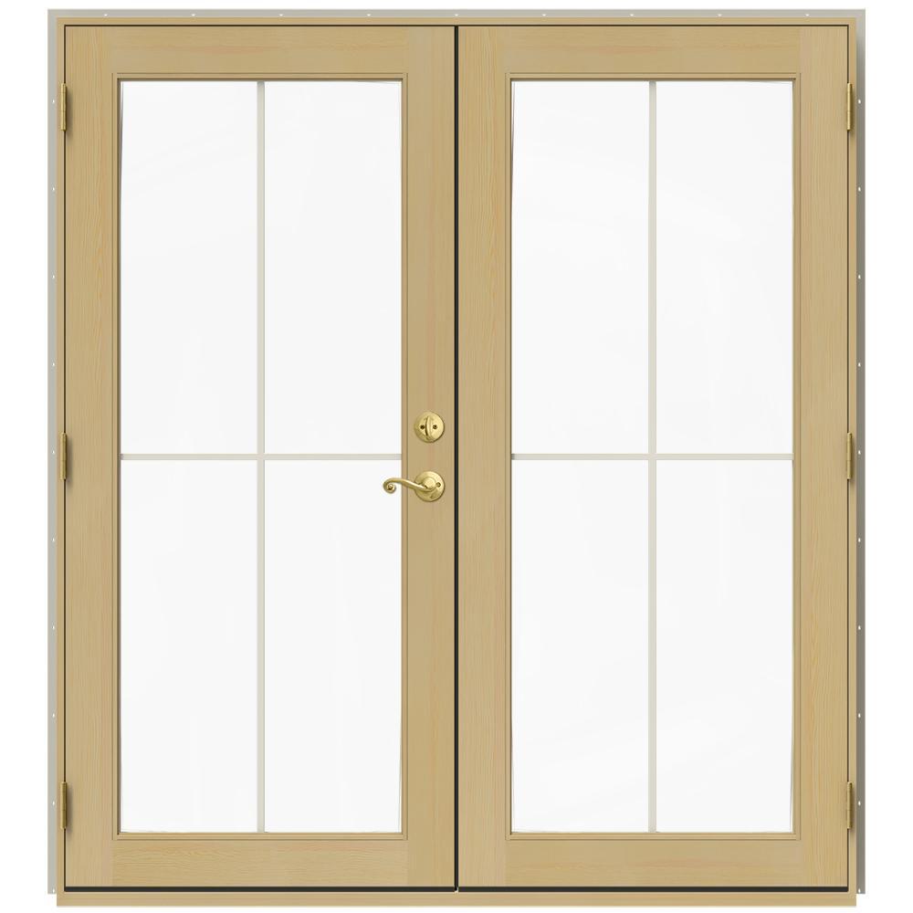 Beautiful Wood   French Patio Door   Patio Doors   Exterior Doors   The Home Depot