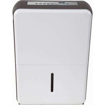 50-Pint Dehumidifier in White