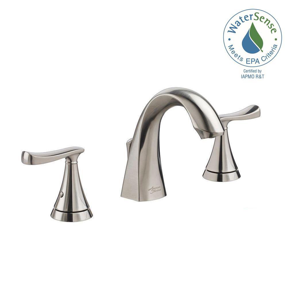 American Standard Chatfield 8 inch Widespread 2-Handle Bathroom Faucet in Brushed Nickel by American Standard
