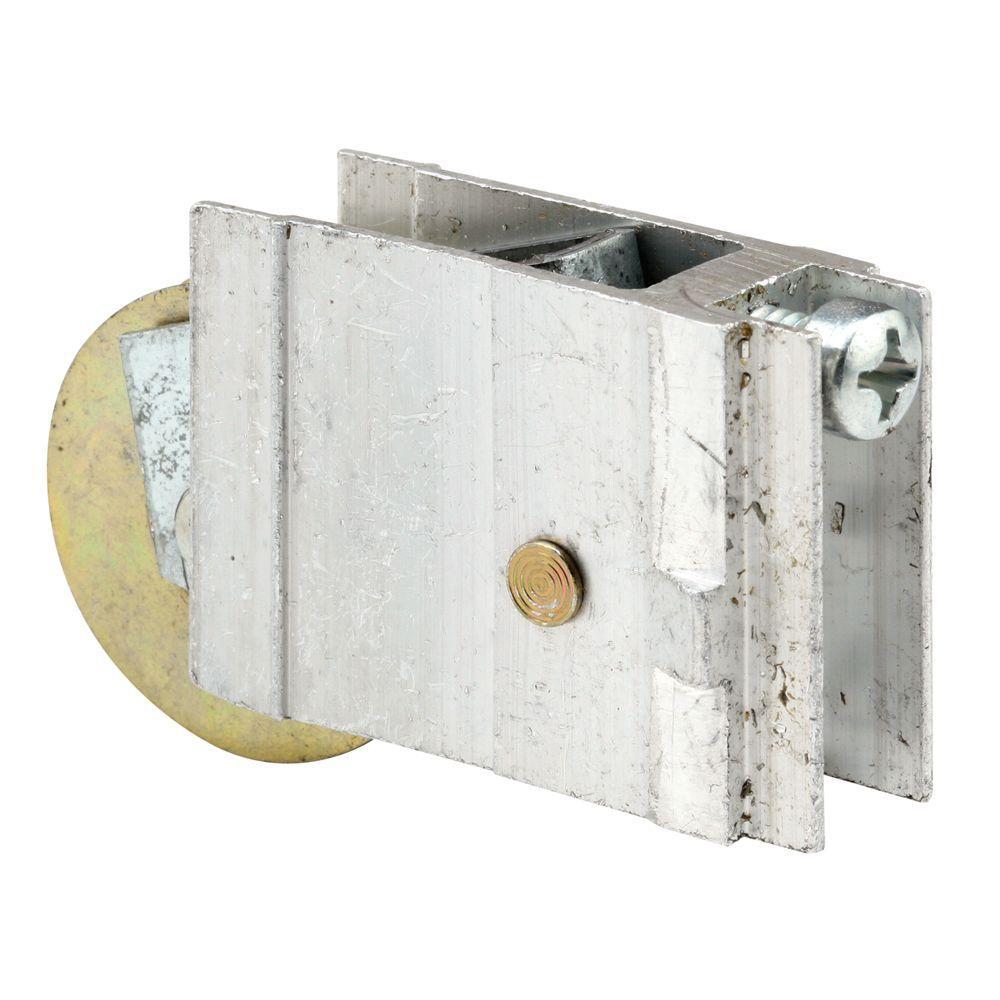 Prime-Line 1-1/2 in. Steel Ball Bearing Aluminum Sliding Door Roller Assembly