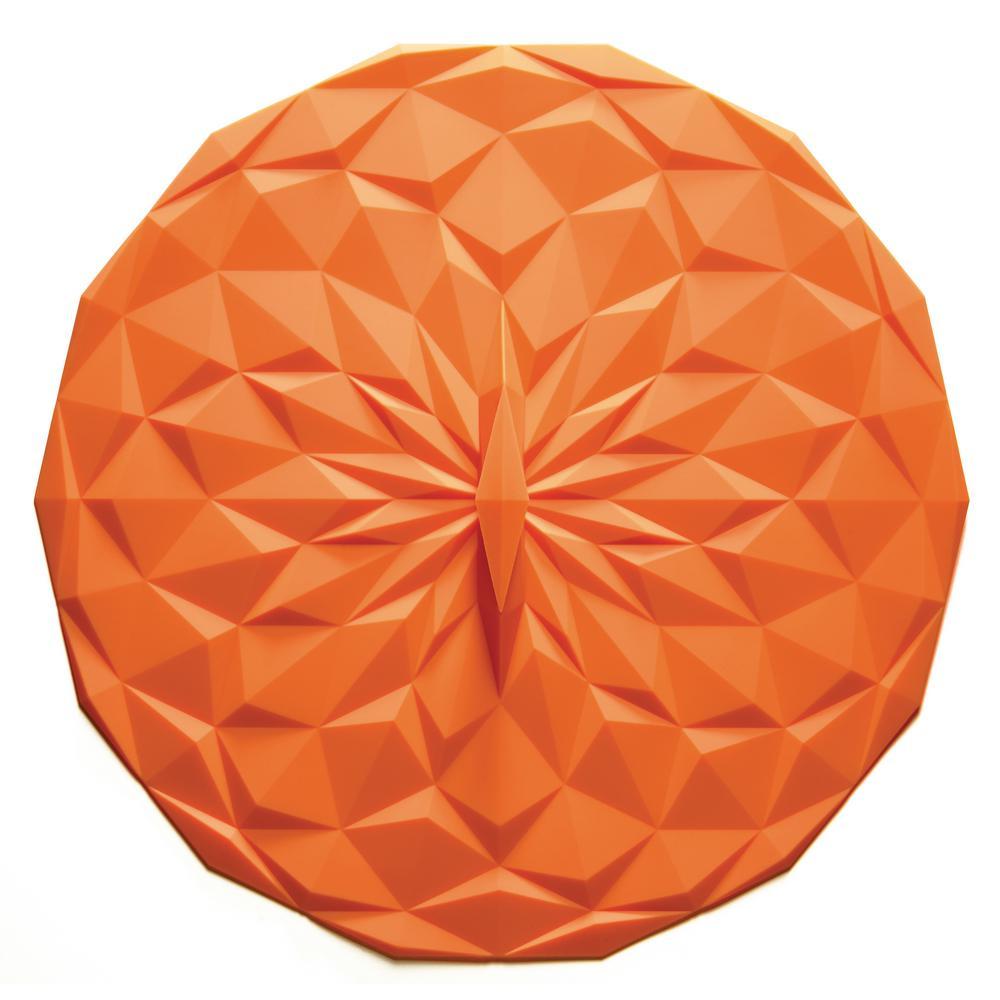 GIR Round 12.5 in. Suction Lid in Orange