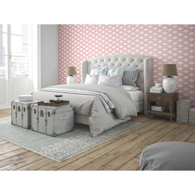 Art in Chaos Collection Abacus in Pale Pink Removable and Repositionable Wallpaper