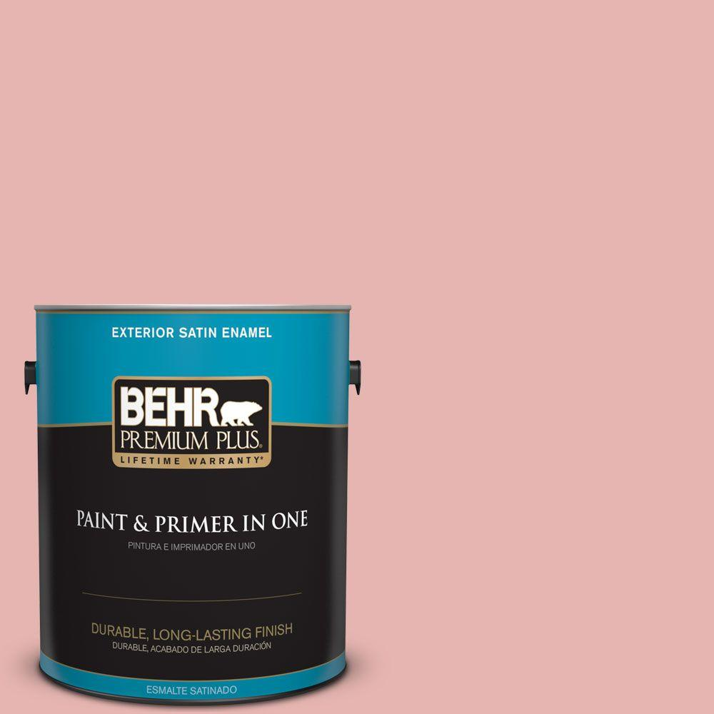 1 gal. #HDC-SP16-09 Dahlia Satin Enamel Exterior Paint