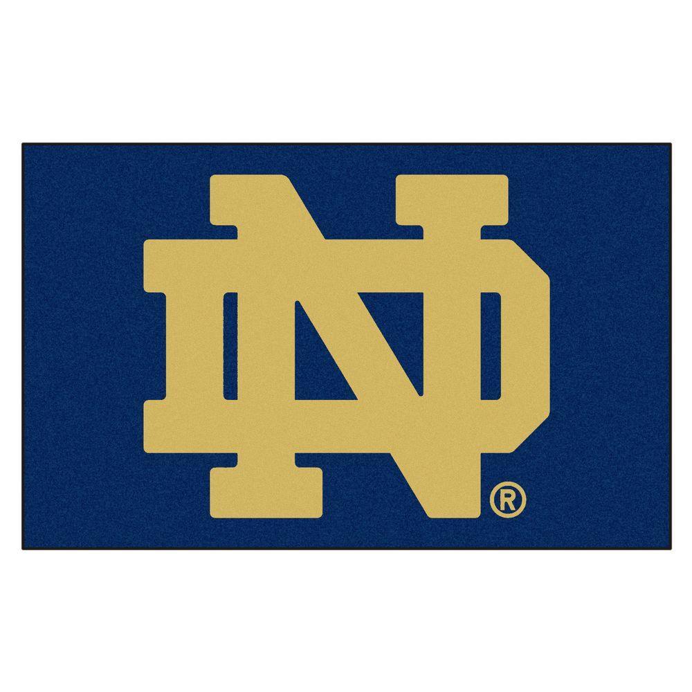Notre Dame University 5 Ft X 8 Ulti Mat