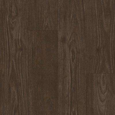American Home Walnut Umber 6.5 in. x 48 in. Glue Down Luxury Vinyl Plank (34.66 sq. ft. / case)