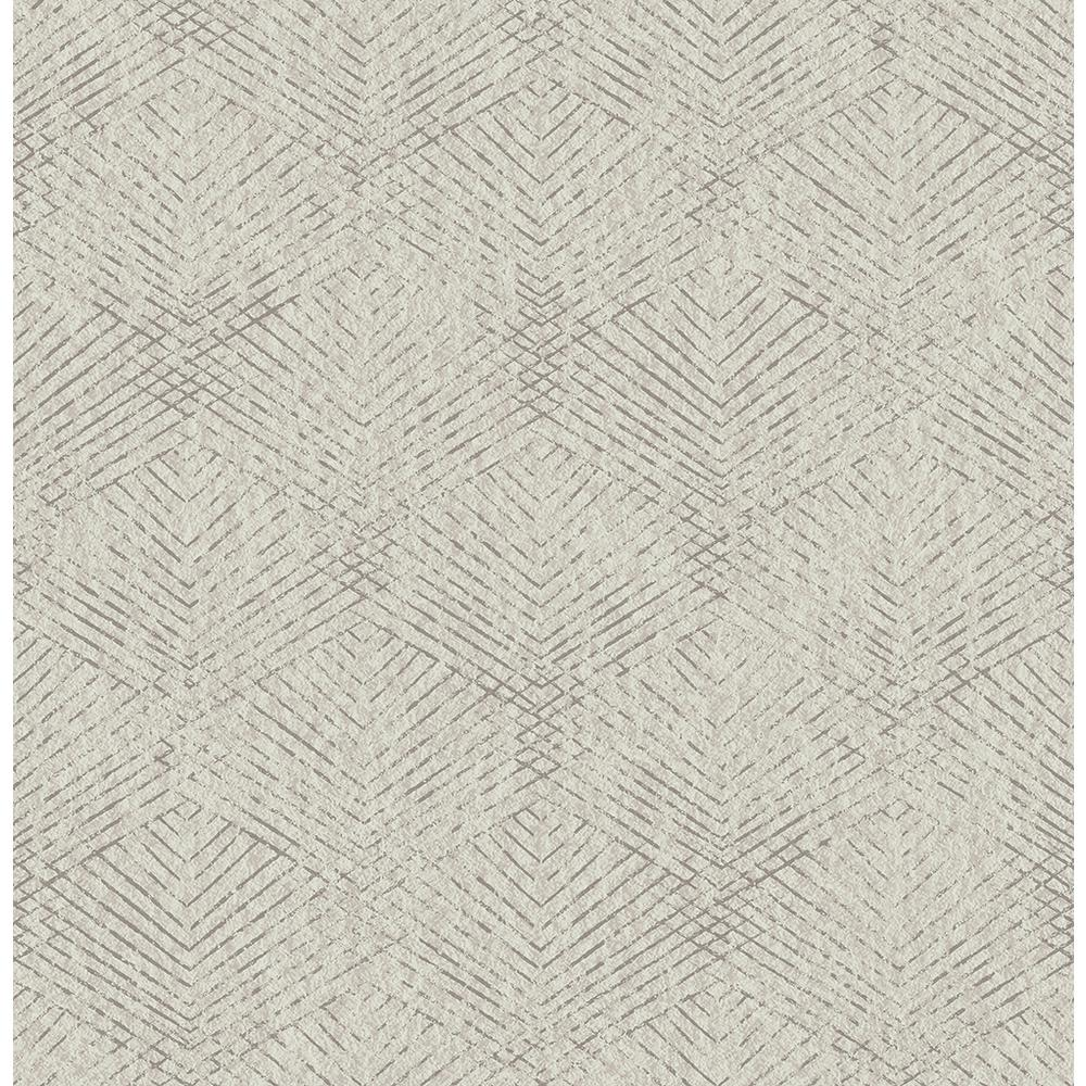 Brewster Fans Grey Texture Wallpaper Sample 2662 001964sam