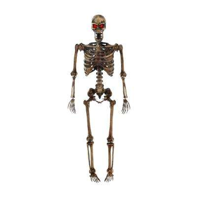 5 ft. LED Pose-N-Stay Decayed Skeleton
