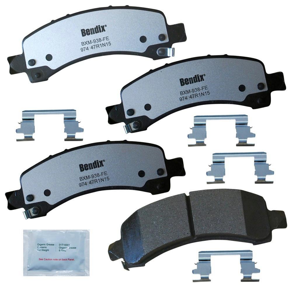 Bendix Rear Fleet Metlok Semi-Metallic SDR Disc Brake Pad
