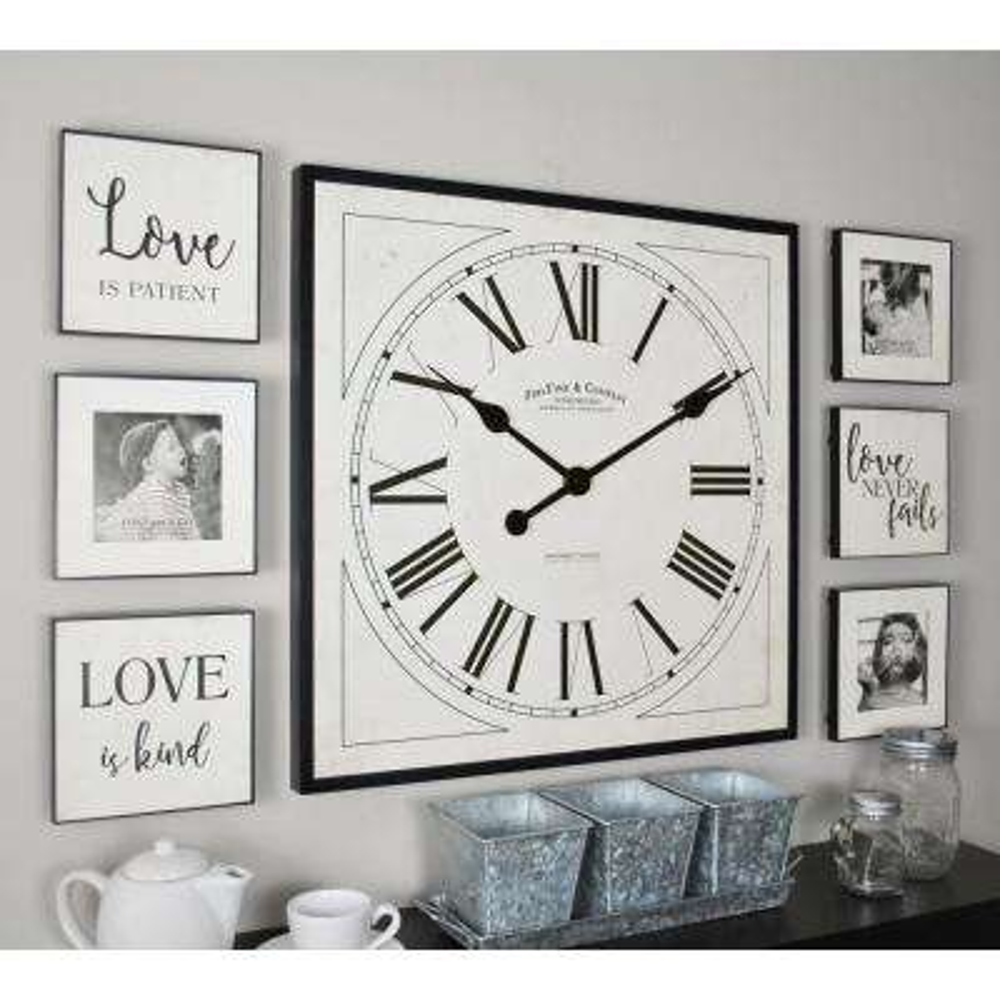 Love White Frame Gallery Set