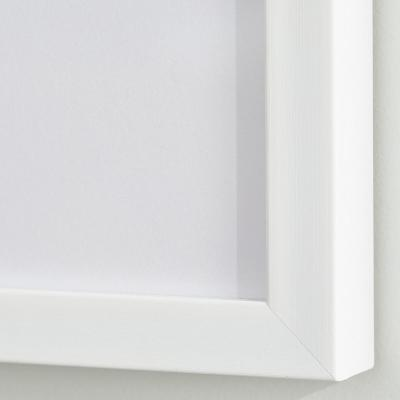 StyleWell White Frame with White Matte Gallery Wall Picture Frames (Set of 4)