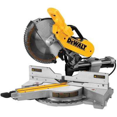 15 Amp 12 in. Double Bevel Sliding Compound Miter Saw