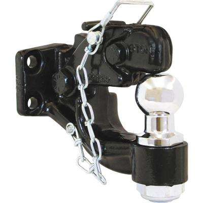 2 in. 8-Ton Chrome Combination Hitch Ball