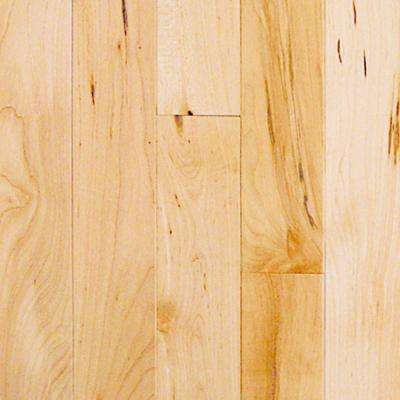 Take Home Sample - Maple Natural Solid Hardwood Flooring - 5 in. x 7 in.