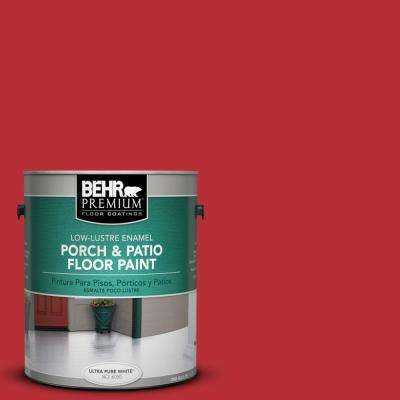 1 gal. #S-G-170 Licorice Stick Low-Lustre Porch and Patio Floor Paint