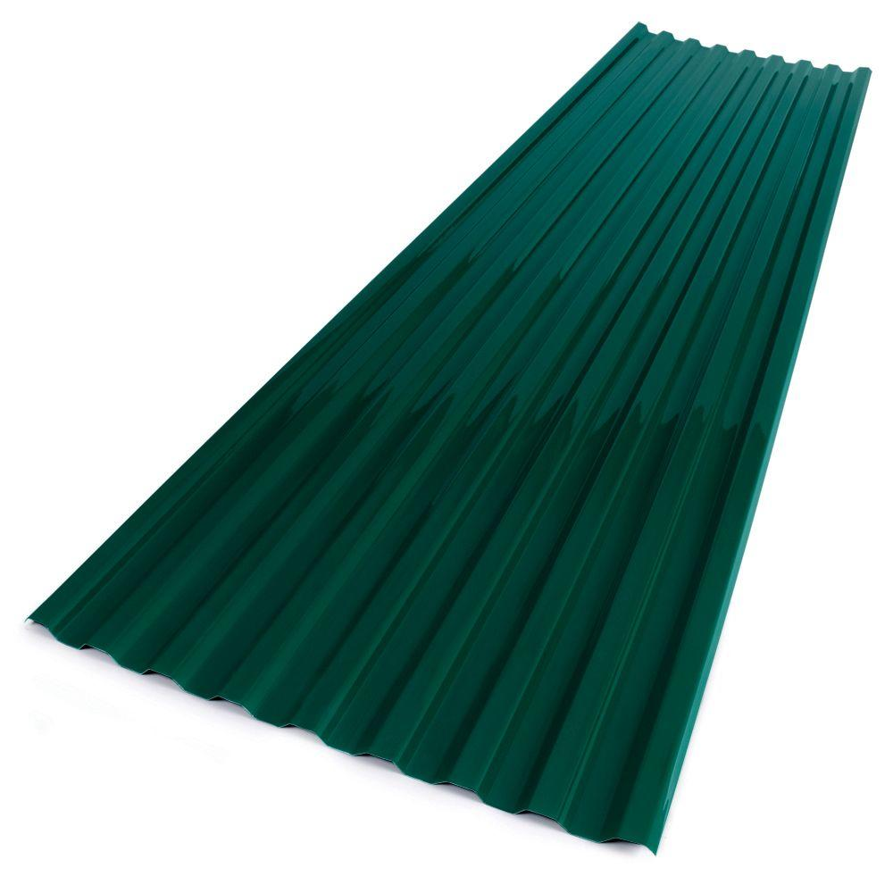 Suntuf 26 In X 12 Ft Polycarbonate Corrugated Roofing