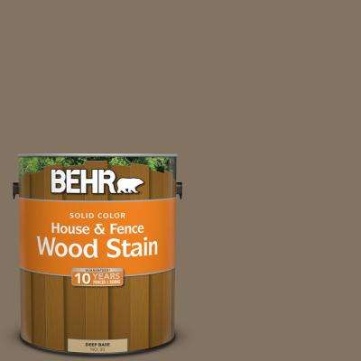 1 gal. #SC-159 Boot Hill Grey Solid Color House and Fence Exterior Wood Stain