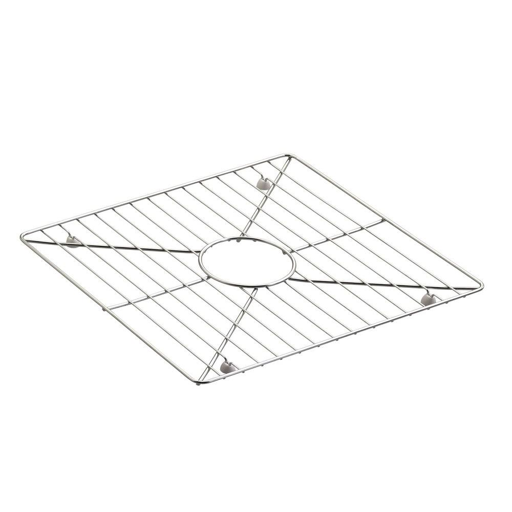 8 Degree Kitchen Sink Bowl Rack in Stainless Steel for K-3671