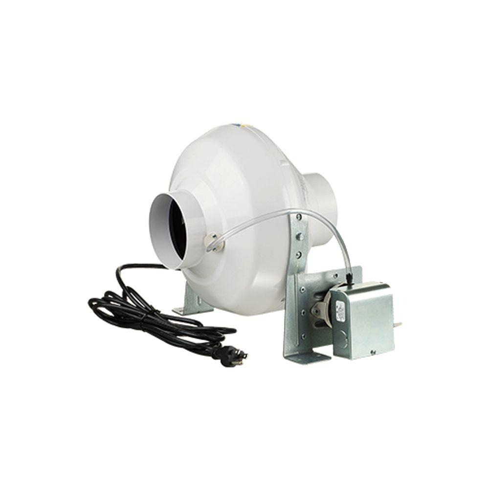 Heat Duct Booster Blower : Vents us cfm dryer booster fan with in duct