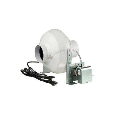162 CFM Dryer Booster Fan with 4 in. Duct