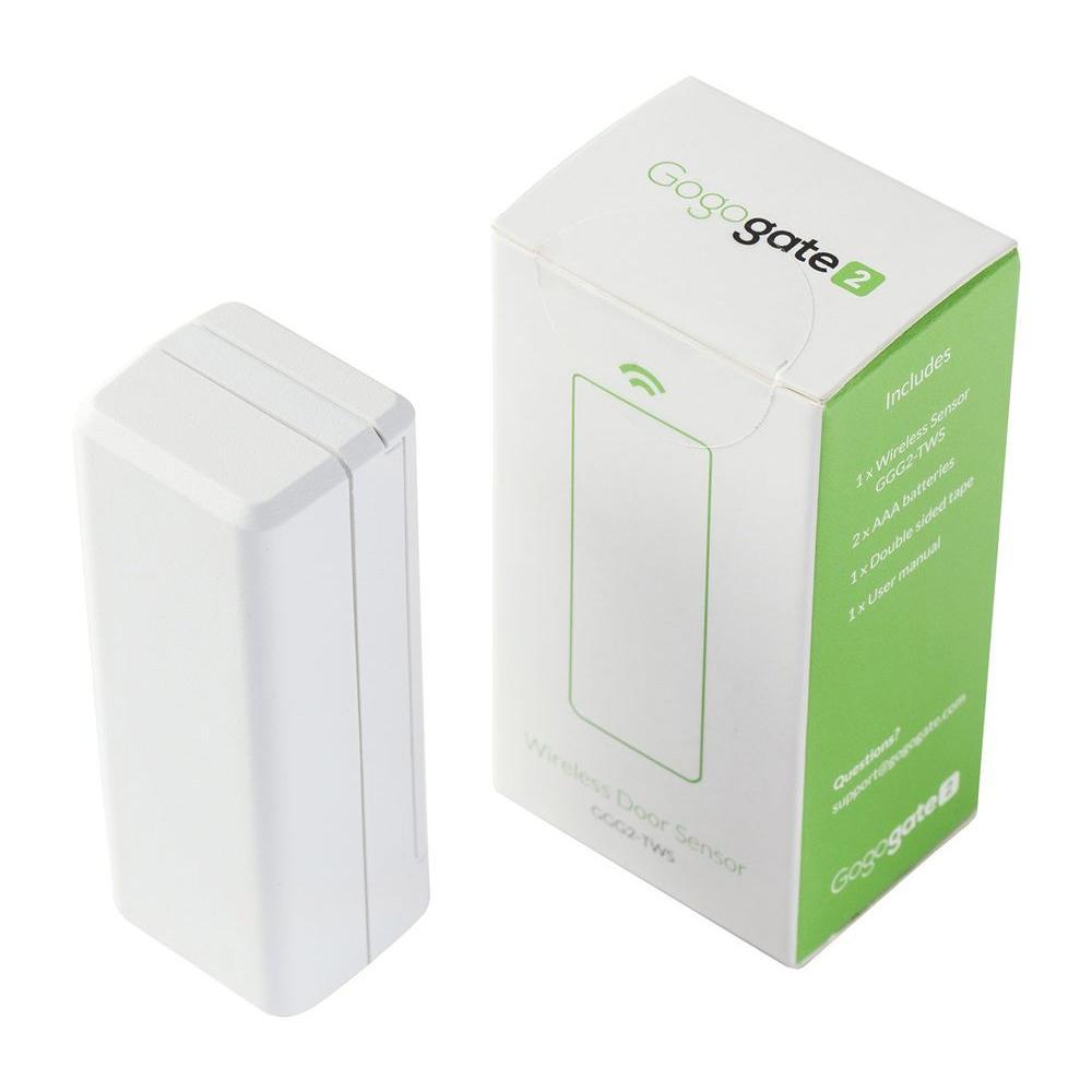Wireless Garage Door Sensor with Status and Temperature Indicator