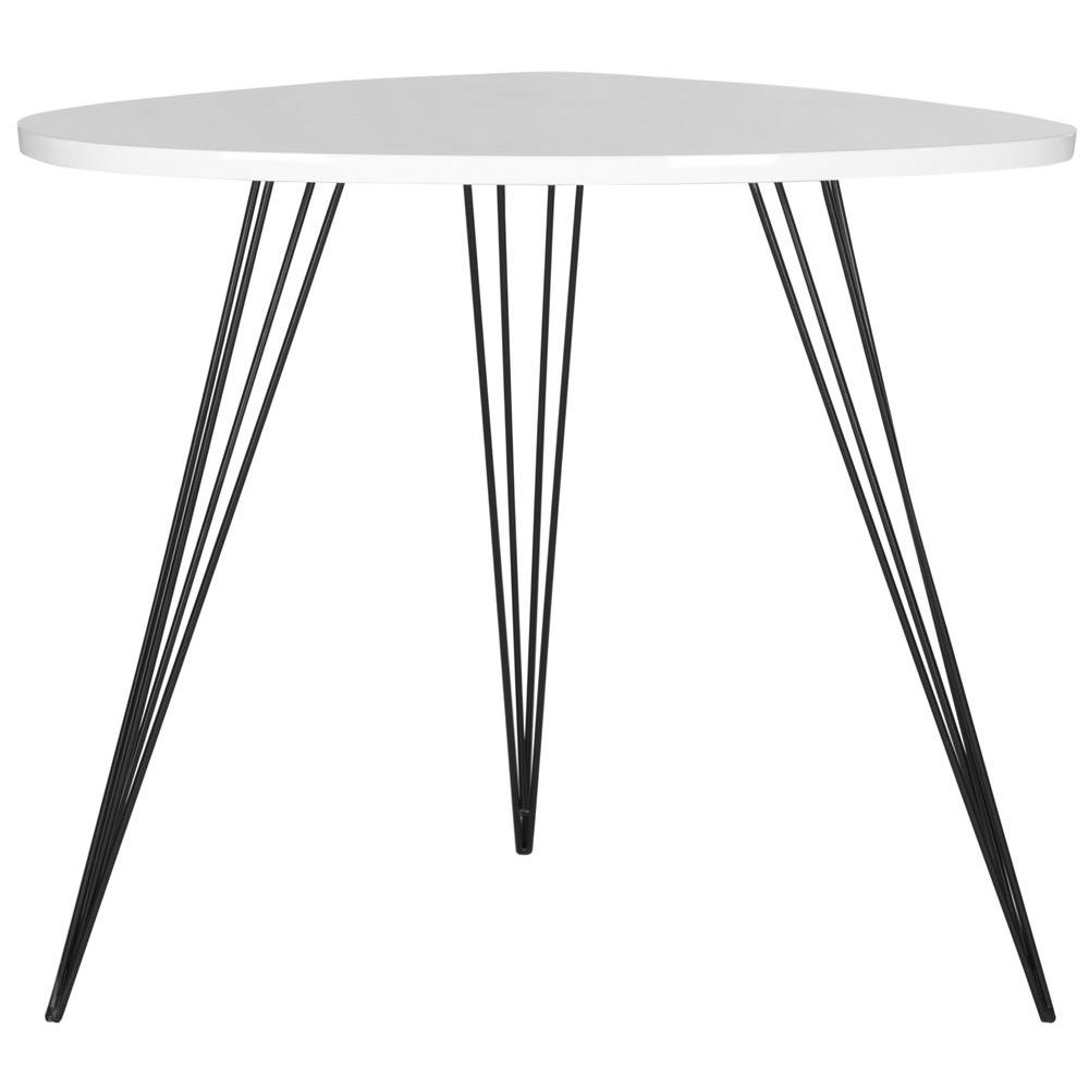 Safavieh Wynton White And Black End Table
