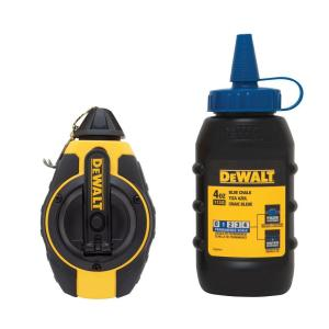 Dewalt 100 ft. Chalk Reel with Blue Chalk by DEWALT