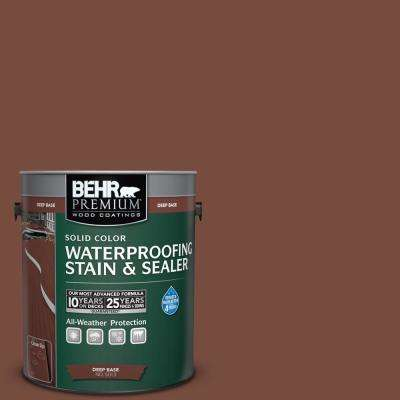1 gal. #PPU2-19 Royal Liqueur Solid Waterproofing Stain and Sealer