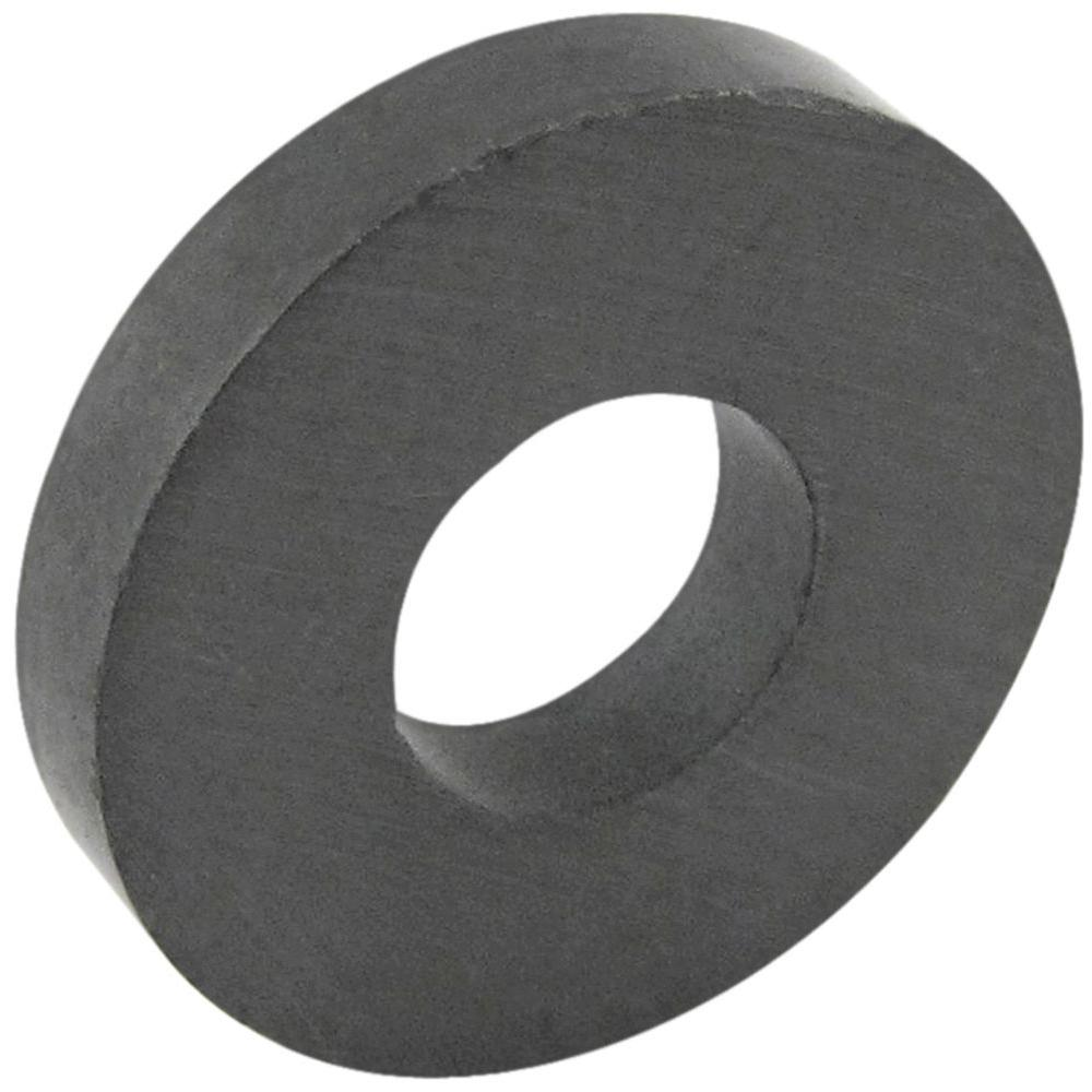 MASTER MAGNETICS 34 In Ceramic Ring Magnet 6 Pack