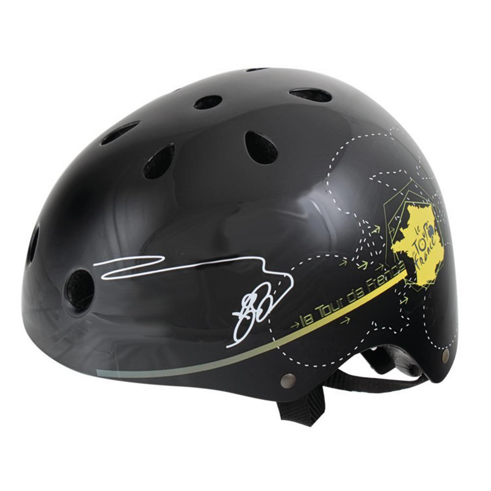 Tour Freestyle Medium Bicycle Helmet in Black