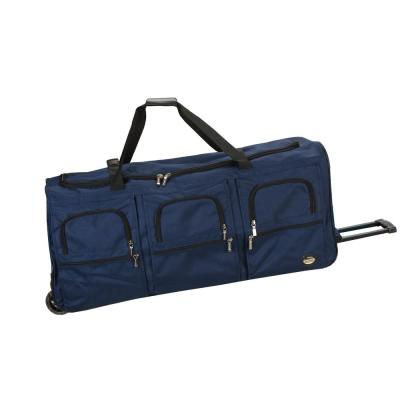 Rockland Voyage 40 in. Rolling Duffle Bag, Navy
