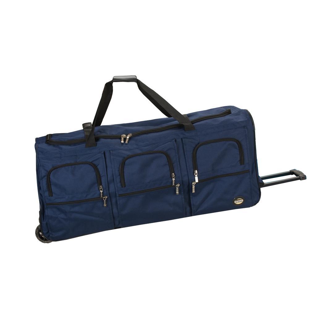 336addb1bbff Wrangler 20 in. Navy Multi-Pocket Sport Duffel Bag-WR-94020-410 ...