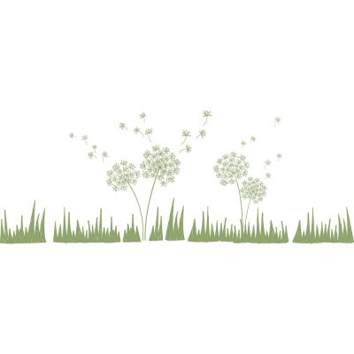 Green Wishes in the Wind Wall Decal