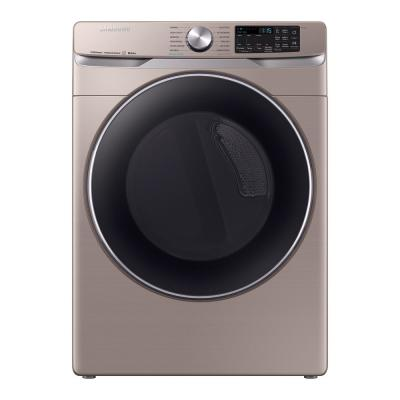 7.5 cu. ft. Champagne Gas Dryer with Steam Sanitize+