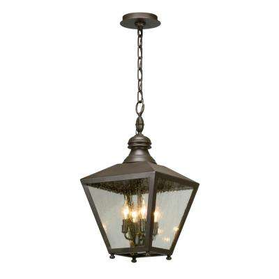 Mumford 4-Light Bronze Outdoor Pendant