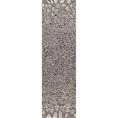 Delhi Silver 2 ft. x 8 ft. Indoor Runner Rug