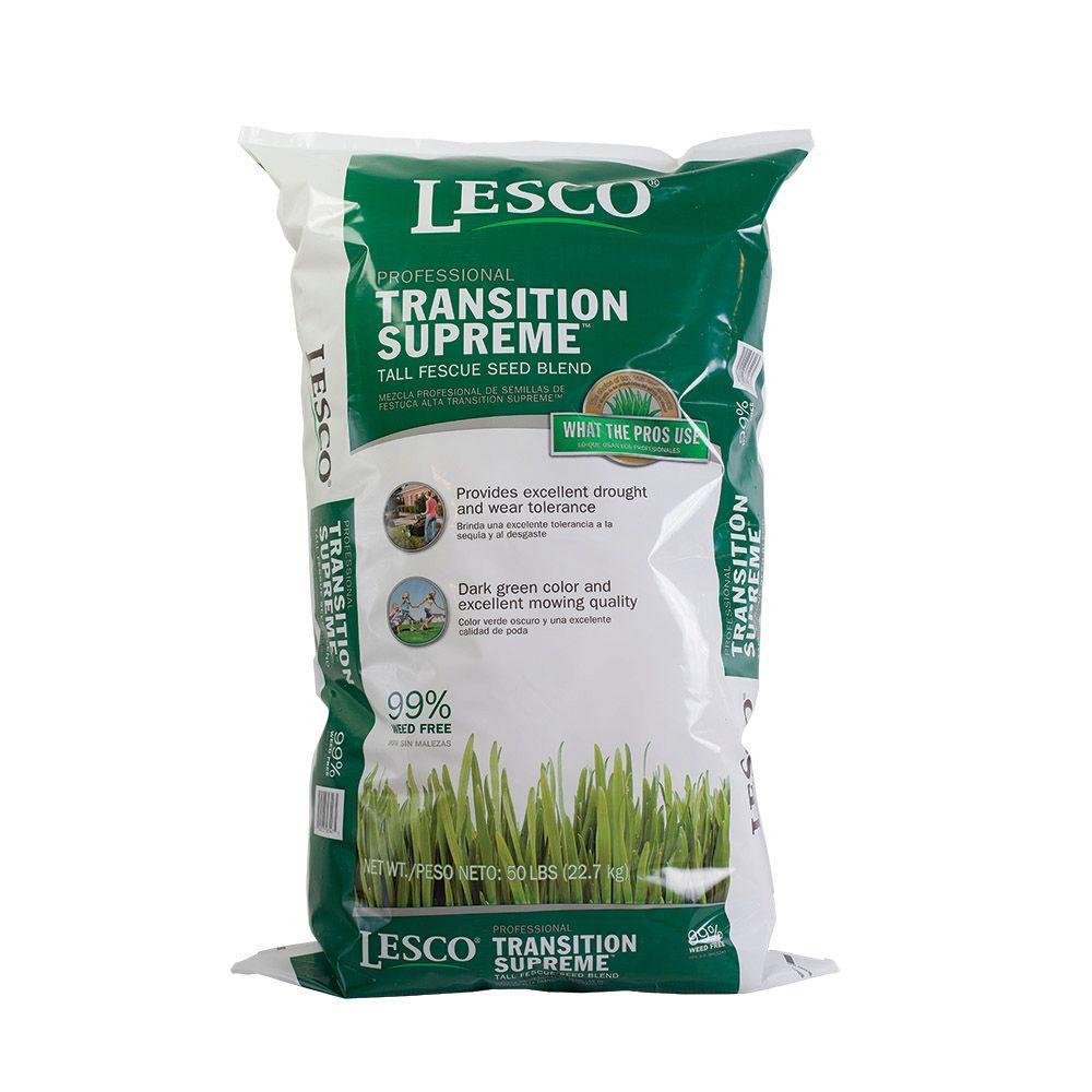 Lesco 50 Lb Supreme Transition Fescue Blend Seed